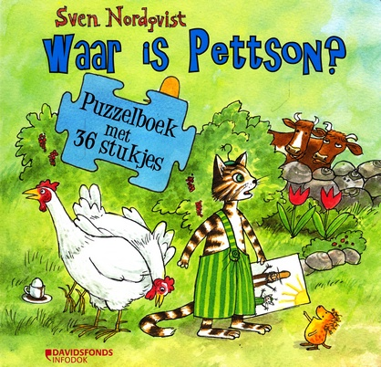 Coverafbeelding van: Waar is Pettson? Puzzelboek