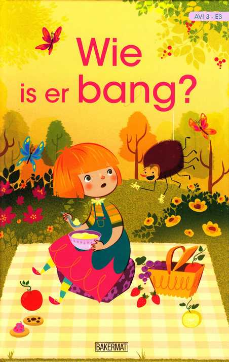 Coverafbeelding van: Wie is er bang?