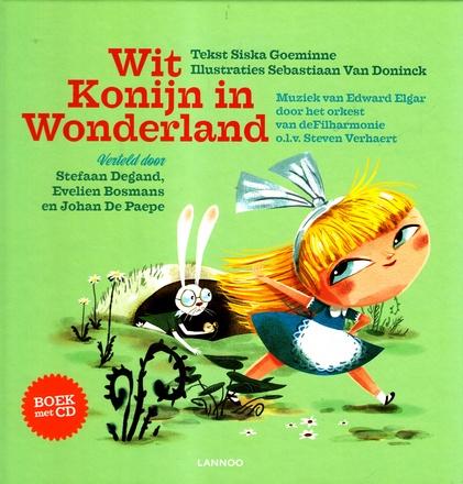 Coverafbeelding van: Wit Konijn in Wonderland