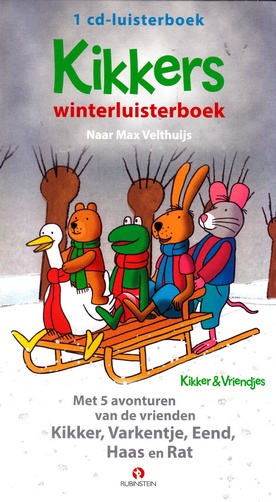 Coverafbeelding van: Kikkers winterluisterboek