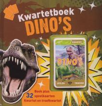 Coverafbeelding van: Kwartetboek dino's