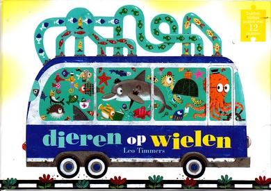 Coverafbeelding van: dieren op wielen (puzzel)
