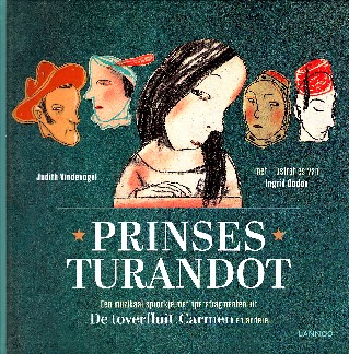 Coverafbeelding van: Prinses Turandot