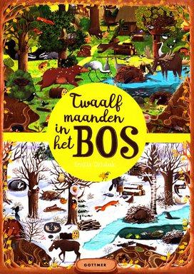 Coverafbeelding van: Twaalf maanden in het bos
