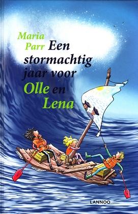 Coverafbeelding van: Een stormachtig jaar voor Olle en Lena