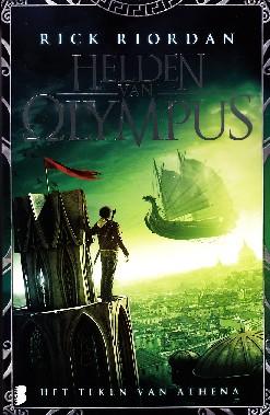 Coverafbeelding van: Het teken van Athena – Helden van Olympus, deel 3