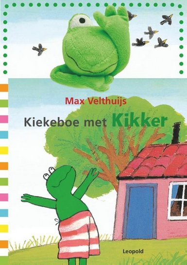 Coverafbeelding van: Kiekeboe met Kikker