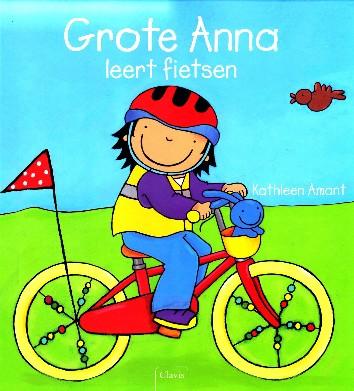Coverafbeelding van: Grote Anna leert fietsen