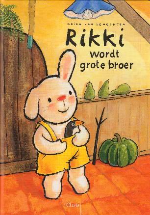 Coverafbeelding van: Rikki wordt grote broer