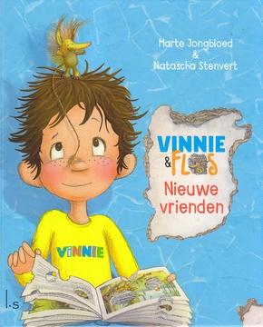 Coverafbeelding van: Vinnie en Flos – Nieuwe vrienden