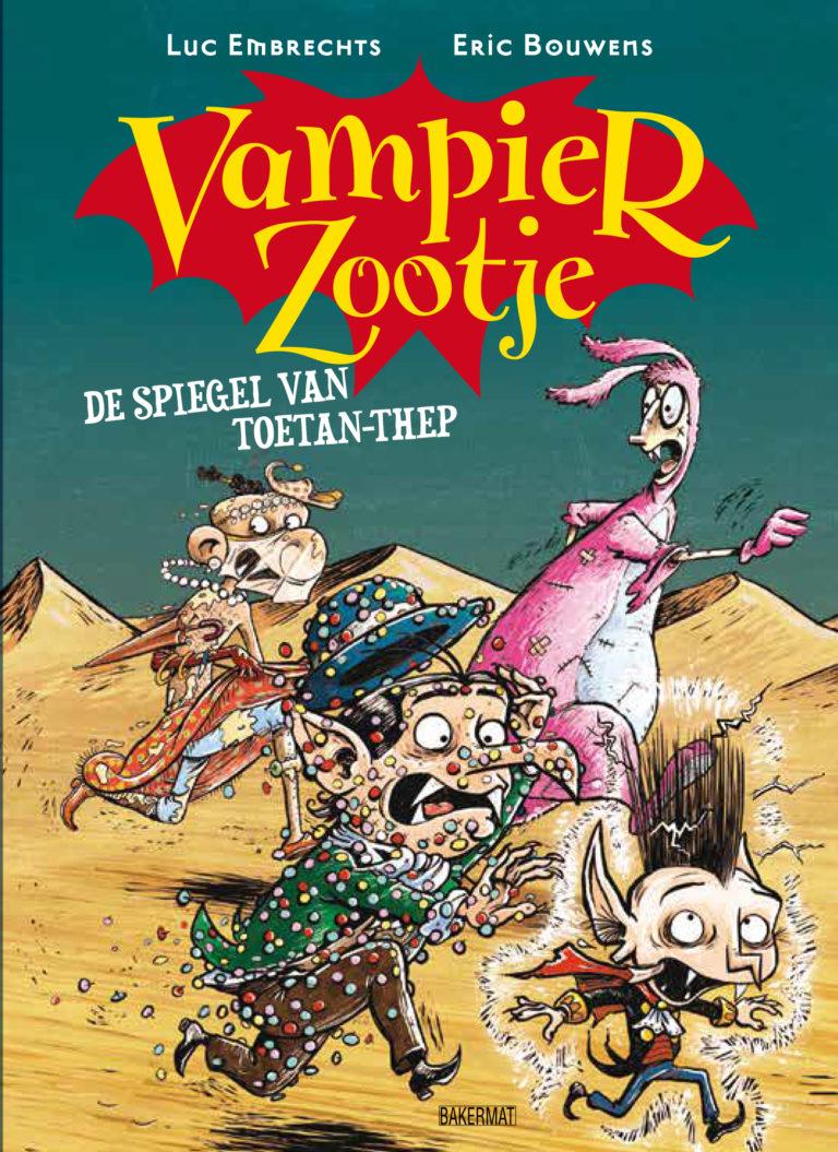 Coverafbeelding van: De spiegel van Toetan-Thep – VampierZootje, deel 2