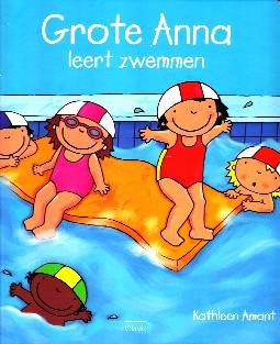 Coverafbeelding van: Grote Anna leert zwemmen