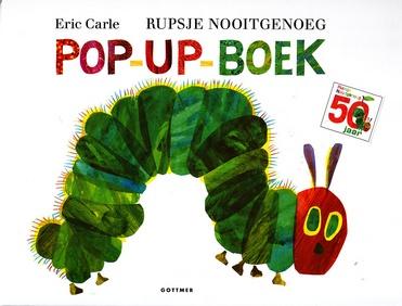 Coverafbeelding van: Rupsje Nooitgenoeg Pop-up-boek