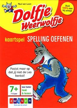 Coverafbeelding van: Dolfje Weerwolfje kaartspel spelling oefenen