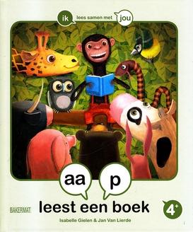 Coverafbeelding van: aap leest een boek