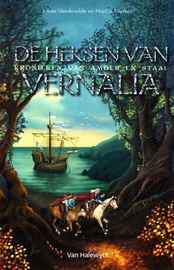 Coverafbeelding van: De heksen van Vernalia – Kronieken van Amber en staal, deel 2