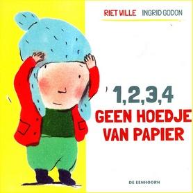 Coverafbeelding van: 1, 2, 3, 4 geen hoedje van papier