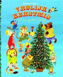 Coverafbeelding van: Vrolijk Kerstmis met een gouden randje