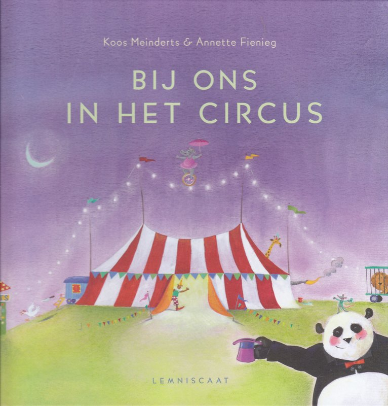 Coverafbeelding van: Bij ons in het circus