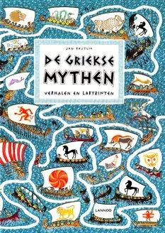 Coverafbeelding van: De Griekse mythen – verhalen en labyrinten