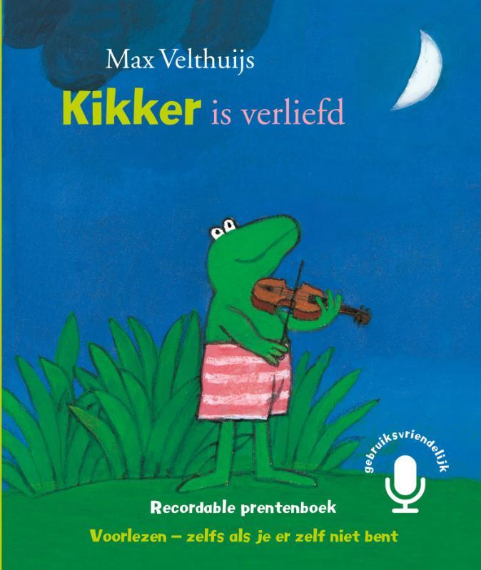 Coverafbeelding van: Kikker is verliefd – Recordable prentenboek