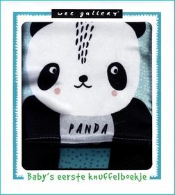 Coverafbeelding van: Baby's eerste knuffelboekje – Panda