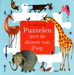 Coverafbeelding van: Puzzelen met de dieren van Fiep