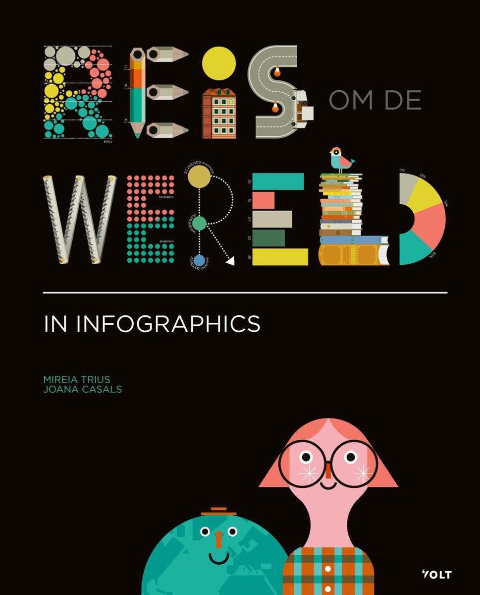 Coverafbeelding van: Reis om de wereld in infographics