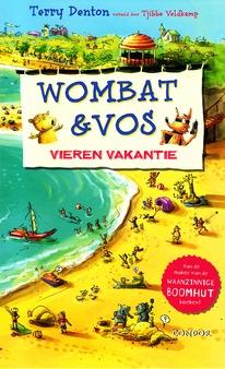 Coverafbeelding van: Wombat & Vos vieren vakantie