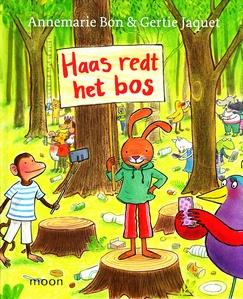 Coverafbeelding van: Haas redt het bos