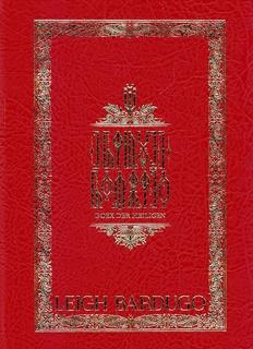 Coverafbeelding van: Boek der Heiligen